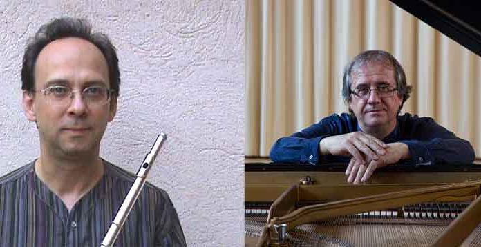 bernat castillejo, flauta i adolf pla, piano