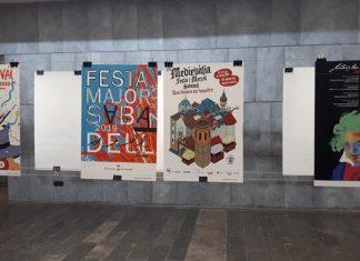 cartells amb premi sabadell escola illa